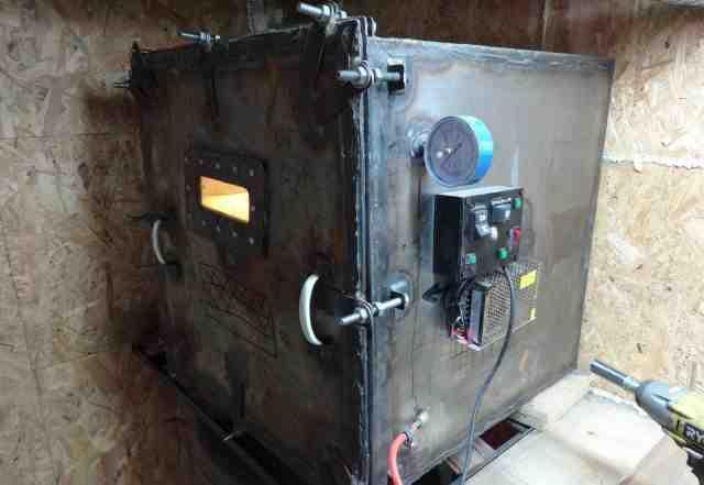 Вакуумная камера для литья